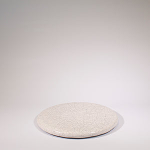 Crackle Glazed Round Board