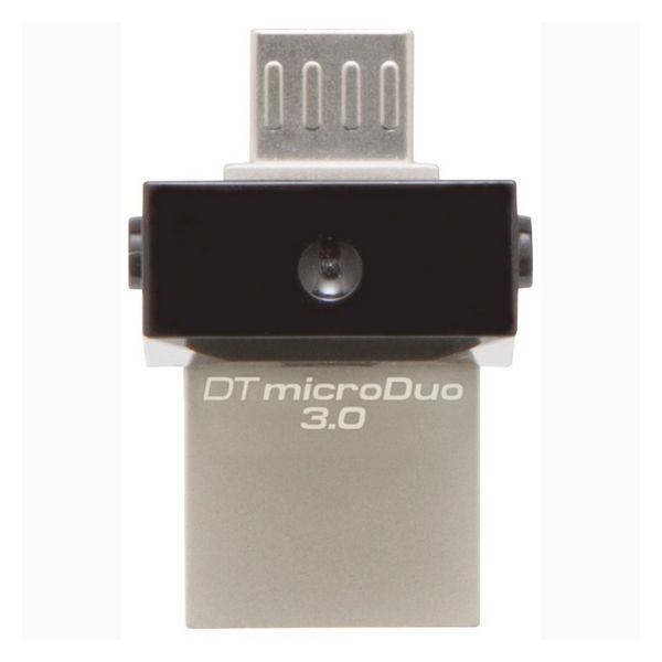 Memoria USB e Micro USB Kingston DTDUO3 64 GB USB 3.0 Nero Grigio