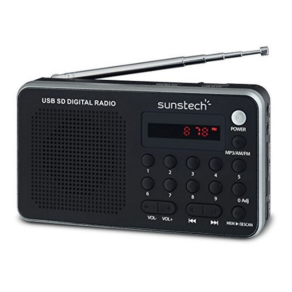 Radio Portatile Digitale Sunstech RPDS32SL Argentato