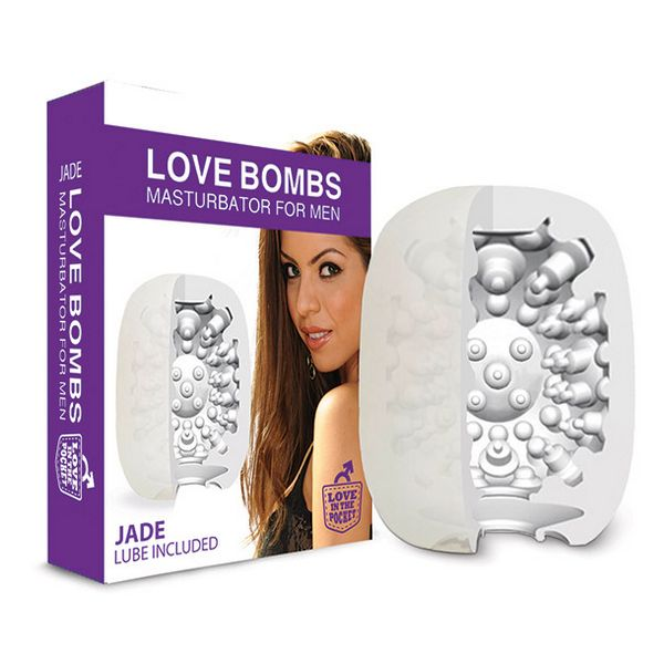 Masturbatore Love Bombs Jade Love in the Pocket E24617