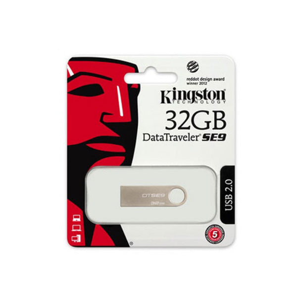 Pendrive Kingston DTSE9H 32 GB USB 2.0 Argentato Metallo