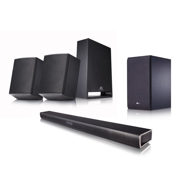Altoparlanti a Colonna LG SJ4R Bluetooth 420W Nero