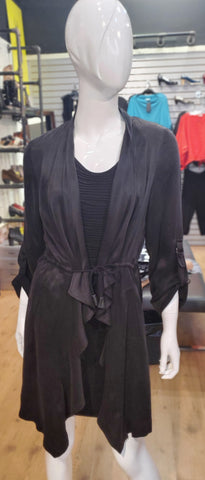 Q Modal Jacket with Drawstring waist