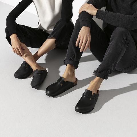Birkenstock BOSTON Oiled Leather Black