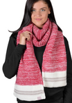 Ladies Canadiana Knit Scarf