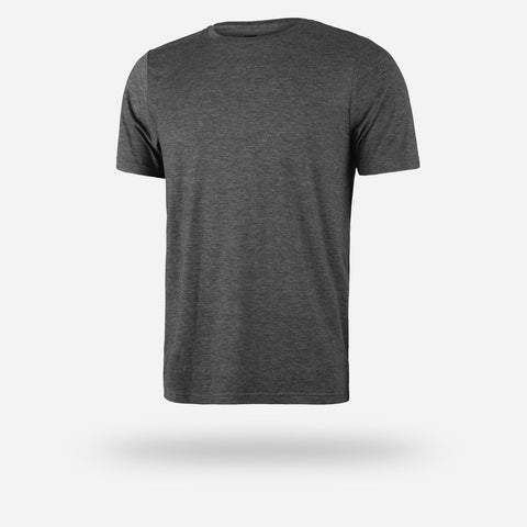 Men's Crew Neck T Shirt - Charcoal