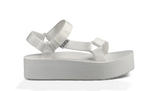 Women's Flatform BRIGHT WHITE Sandals