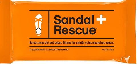 Sandal Rescue (15 Cleaning Wipes/Pack)