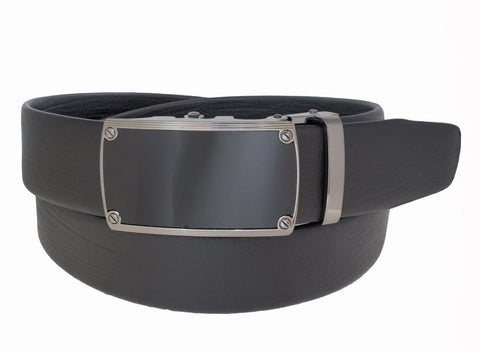 Tubular Rachet Belt Black