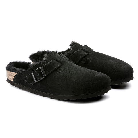 Birkenstock BOSTON VL/Felt - Black