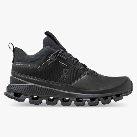 ON Cloud Hi - Waterproof Women's - Black