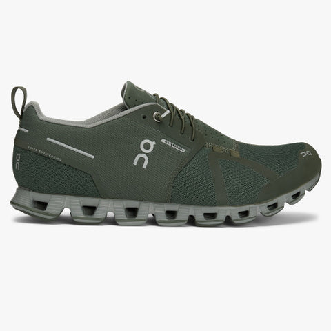 ON Cloud Mens - Green/Lunar Waterproof