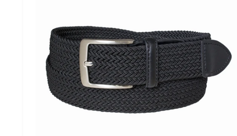 Stretch Cotton Woven Casual Belt