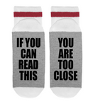If You Can Read This -You Are Too Close- Ladies
