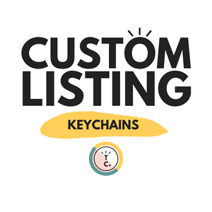 Custom Keychains (Reserved)
