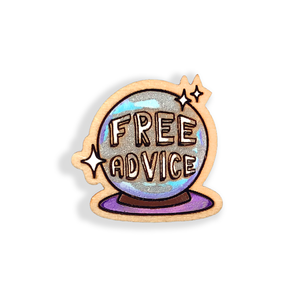 Free Advice Pin