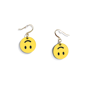 Upside-Down Smiley Earrings