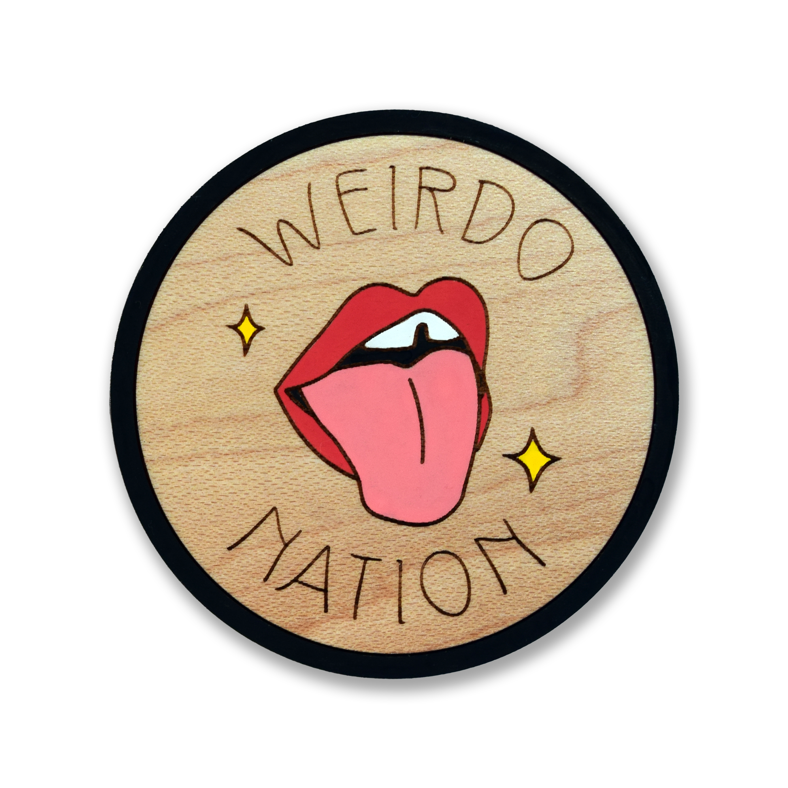 Weirdo Nation Brooch