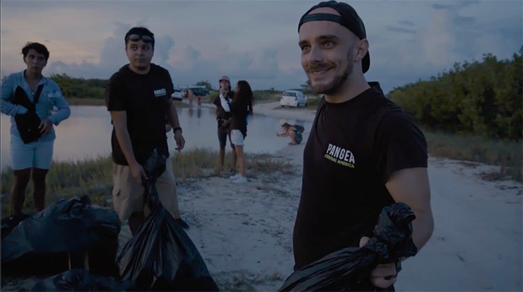 Pangea Cleanup in Isla Blanca, Cancun, Mexico
