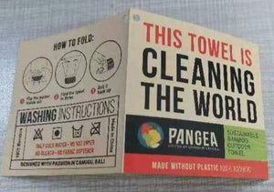 Towel Retail Tag - Pangea Movement