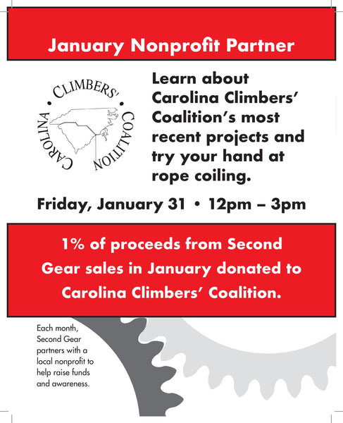 Learn about Climbing in WNC with Carolina Climbers' Coalition!