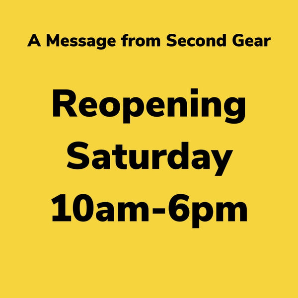 Store Reopening on Saturday June 27th!