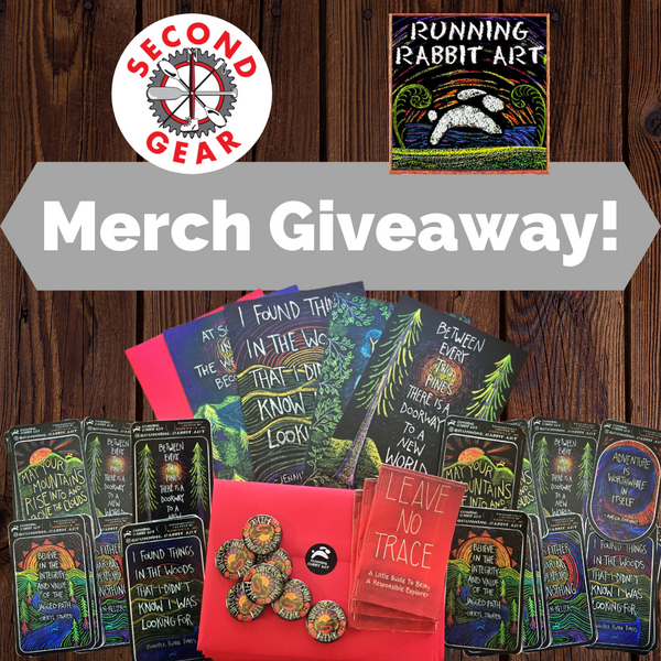 Running Rabbit Art Merch Giveaway!