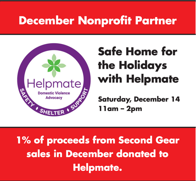 Safe Home for the Holidays with Helpmate – Saturday, December 14th