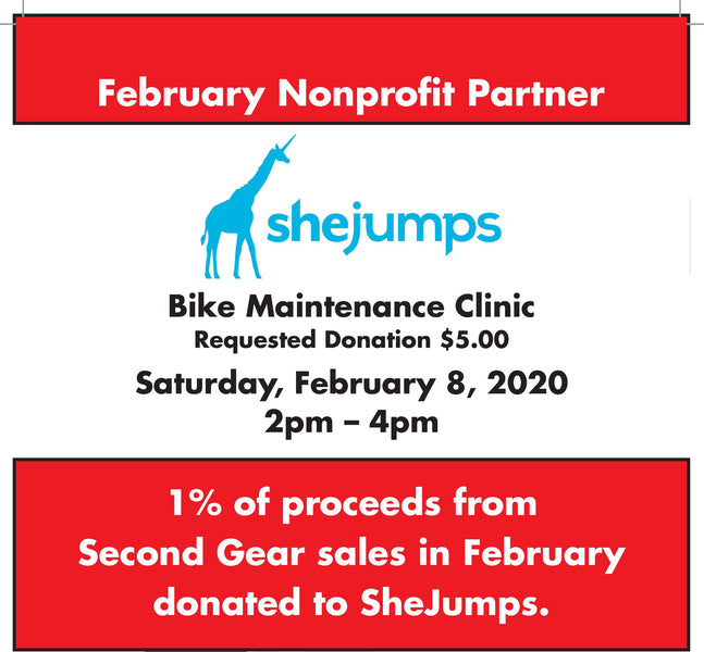 Bike Maintenance Event with SheJumps!
