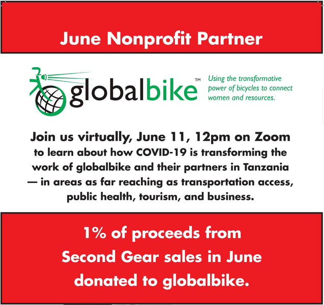 Virtual event with GlobalBike on Zoom!