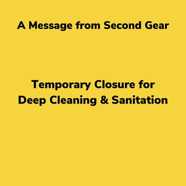 Temporary Store Closure