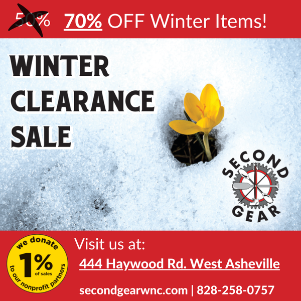 Winter Clearance Sale now 70% Off!