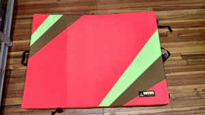 Organic Climbing Simple Pad Crash Pad (Color patterns vary)