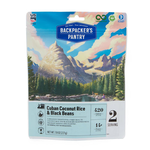 Backpacker's Pantry Cuban Coconut Black Beans and Rice