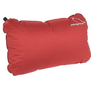 Peregrine Pro Stretch Camp Pillow, Red, Large
