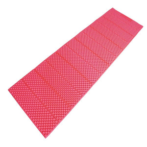 Ace Camp Accordion Full Length Sleeping Pad, Red