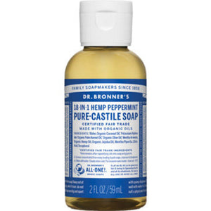Dr Bronner's Hemp Peppermint Soap, 2oz