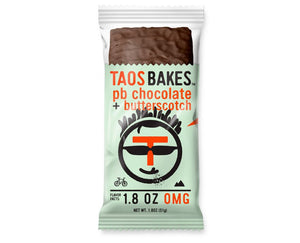 Taos Bakes Bar, Peanut Butter Chocolate & Butterscotch