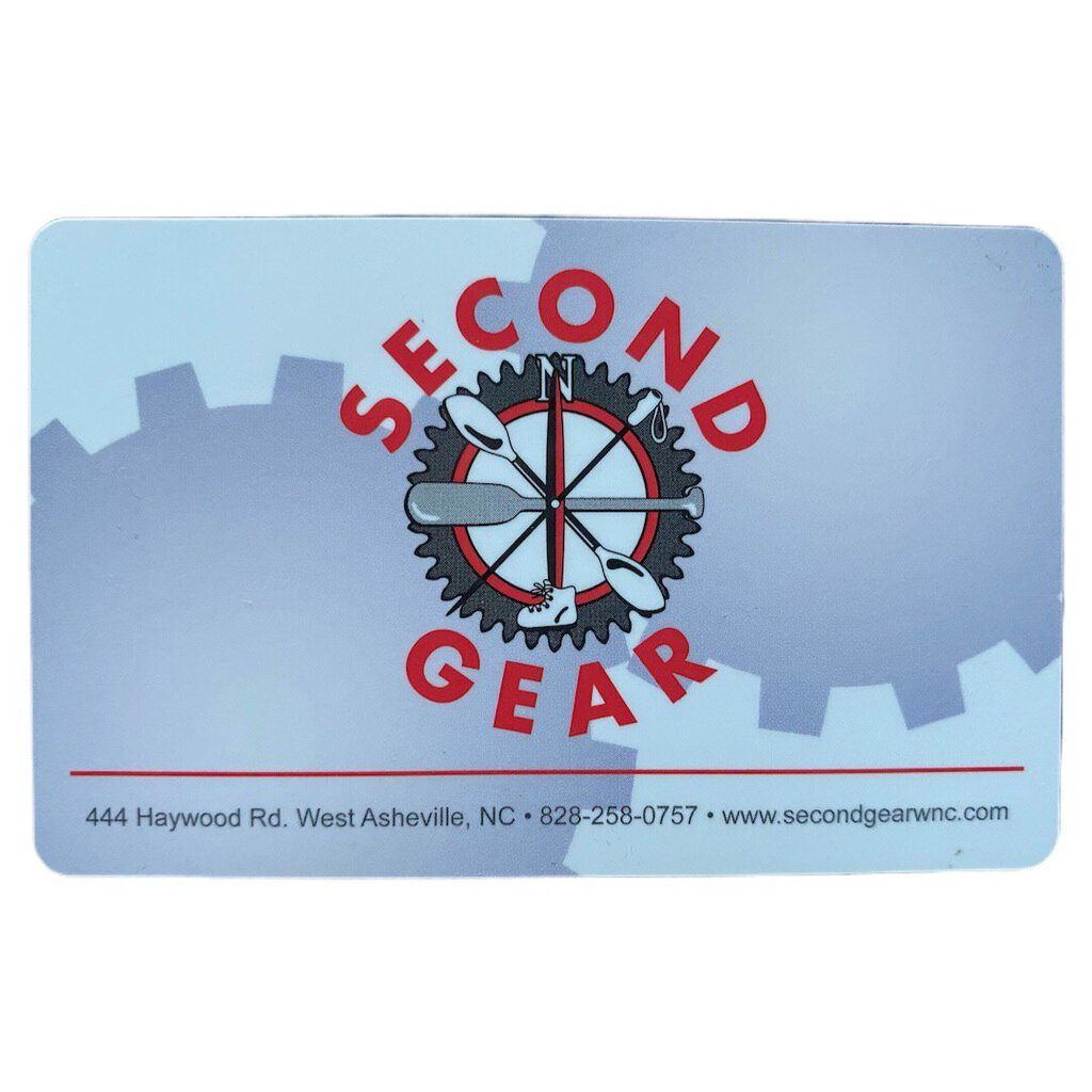 Second Gear Gift Card
