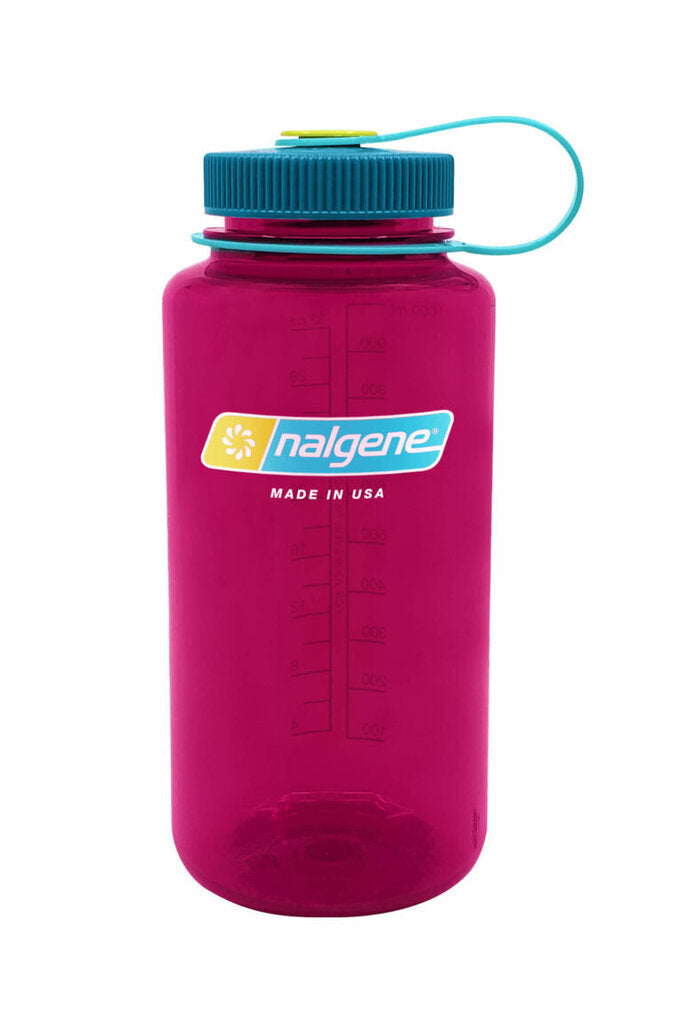 Nalgene Wide Mouth Bottle, Eggplant, 32oz