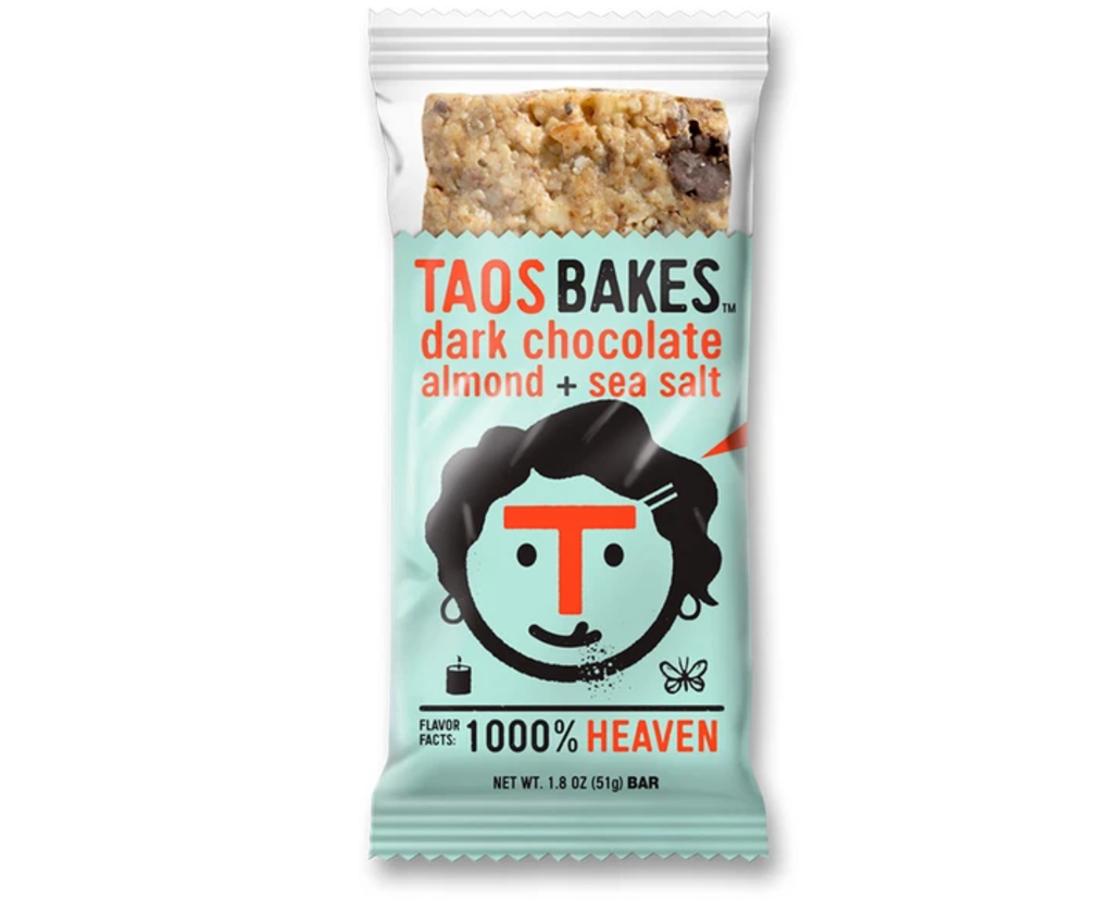 Taos Bakes Bar, Dark Chocolate Almond + Sea Salt