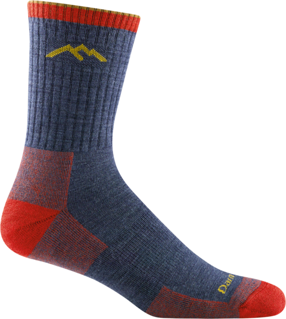 Darn Tough Merino Micro Crew Midweight Socks, Denim, Men's L / Style 1466