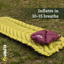 Load image into Gallery viewer, Klymit Static V2 Sleeping Pad, Green