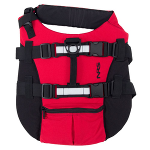 NRS CFD Dog Life Jacket, Red, XS
