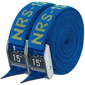 "NRS 1"" HD Tie-Down Straps, 15', Pair of 2"