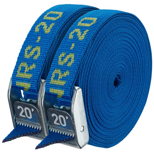 "NRS 1"" HD Tie-Down Straps, 20' Pair of 2"