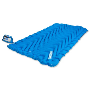 Klymit Double V Sleeping Pad, Blue