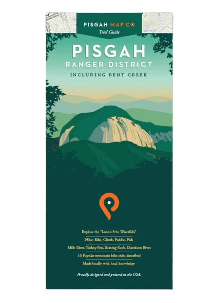Pisgah Map Company Pisgah Ranger District Map