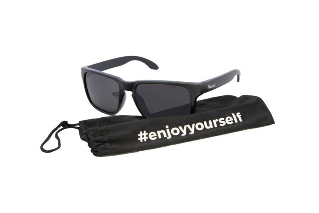 Gnarcissist Aries Sunglasses, Black/Black