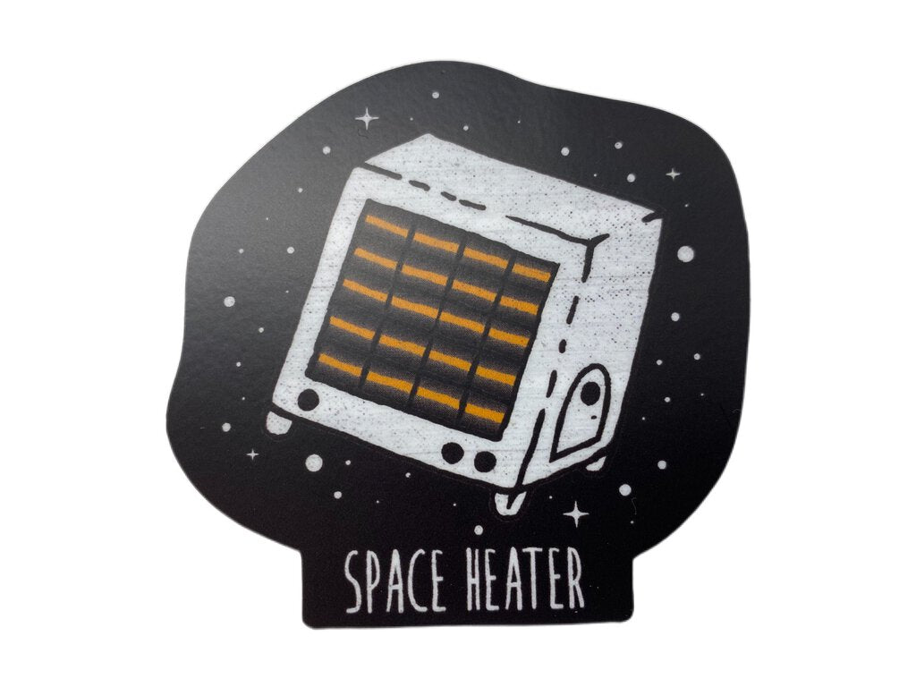 Menottees Space Heater Sticker